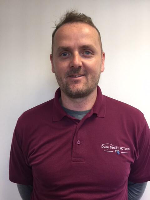 Trevor Giles - Director of Duke's Street Motors in Loughborough